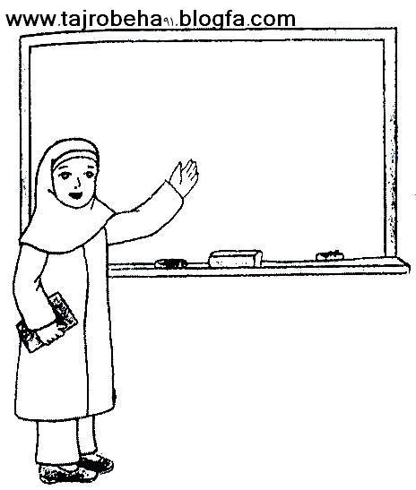 کادربرای نقاشی آزاد یا کارت آموزه